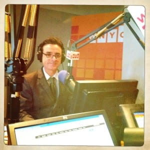 """The View From Brian's Chair."" Live, on The Brian Lehrer Show, WNYC."