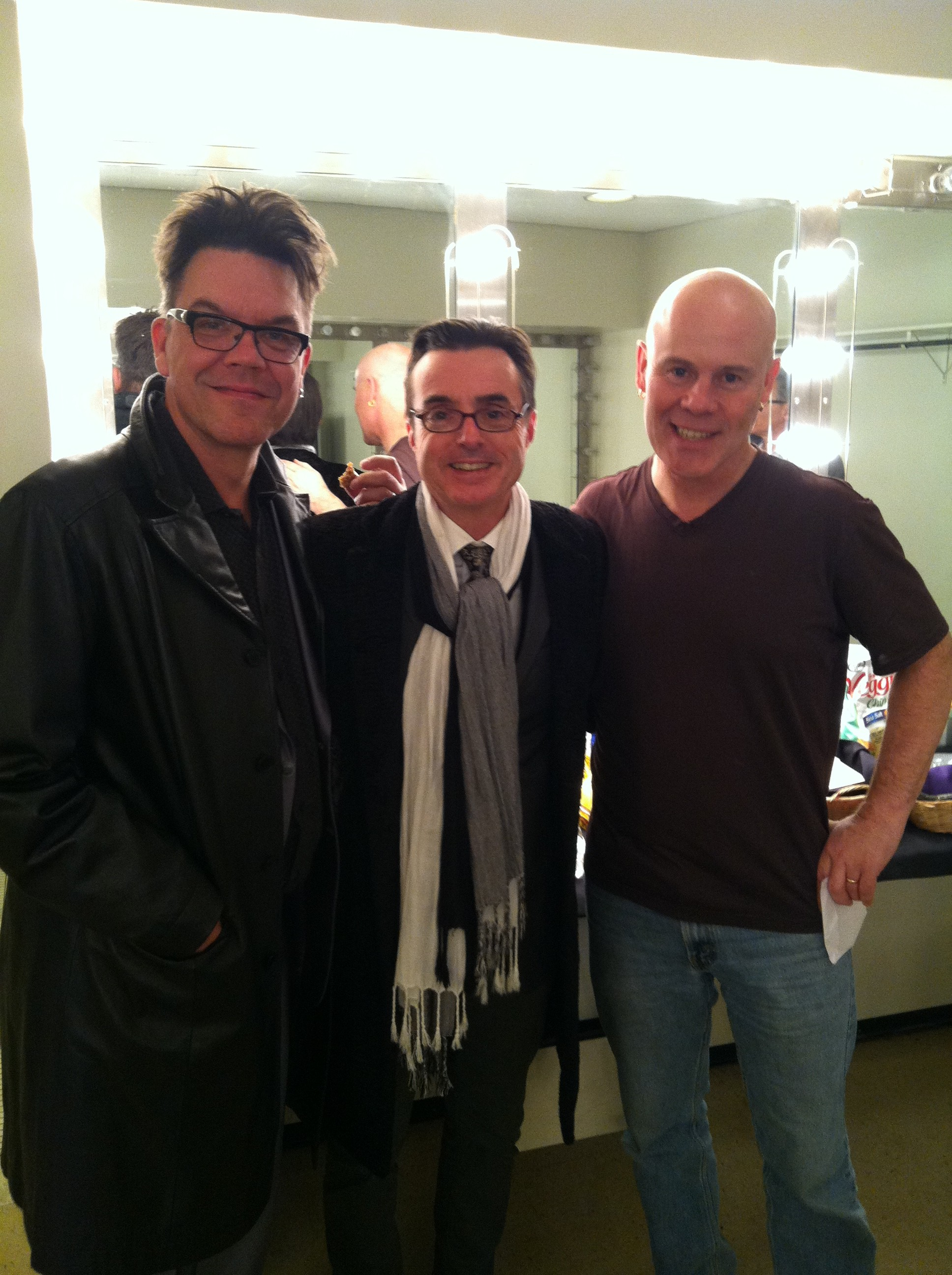 Europa and the Pirate Twins: Blake Leyh, M. Dery, Thomas Dolby.